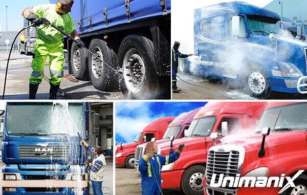 Lavage De Flotte De Camions; Chaque Tâche Est Différente 2