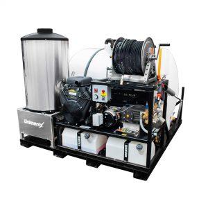 Skid-mounted Trailer Pressure Washers