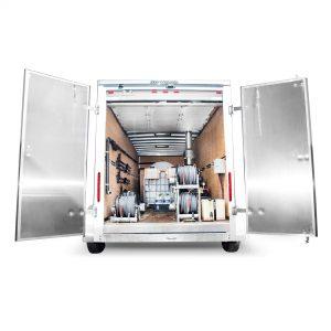 Enclosed Trailer Pressure Washers