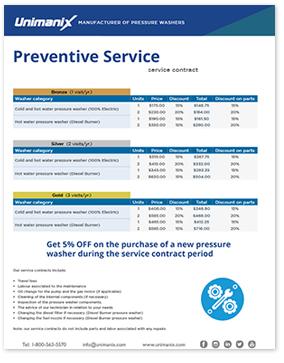 Service préventif 1